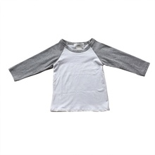2019 new summer little <strong>boy</strong> clothing long sleeve kids wear simple baby <strong>boy</strong> <strong>t-shirts</strong>