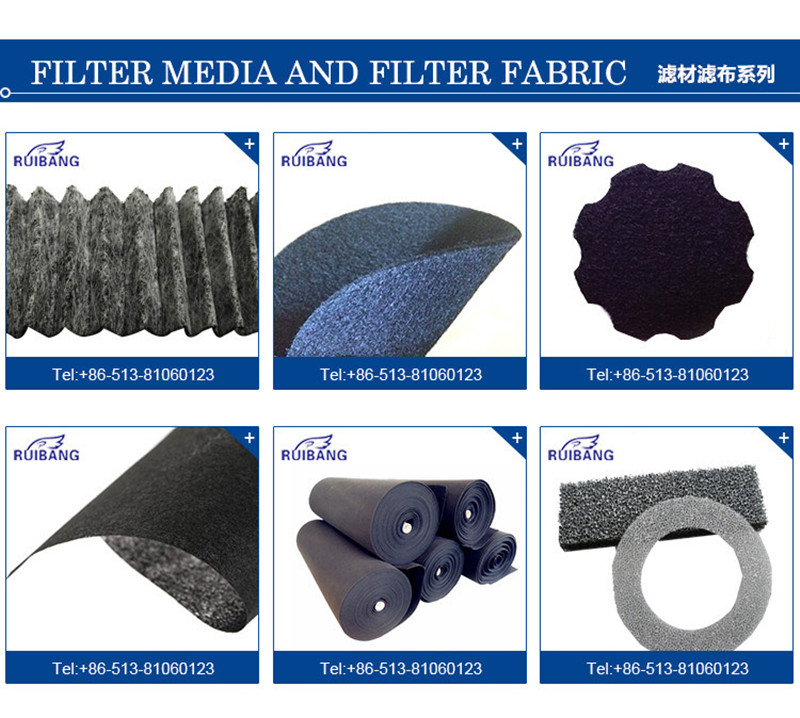 High Quality Sponge Foam Disk Activated Carbon Air Synthetic Filter Media