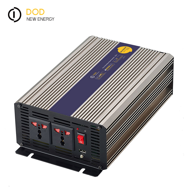 inverter 12v to 220v 1000 watts dc to ac solar power pure sine wave inverter 24vdc to 110vac single phase <strong>lcd</strong> solar inverter