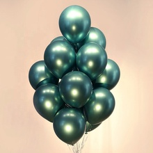 Metallic Chrome Balloons <strong>12</strong> inch Wedding Party Decoration Latex Balloon