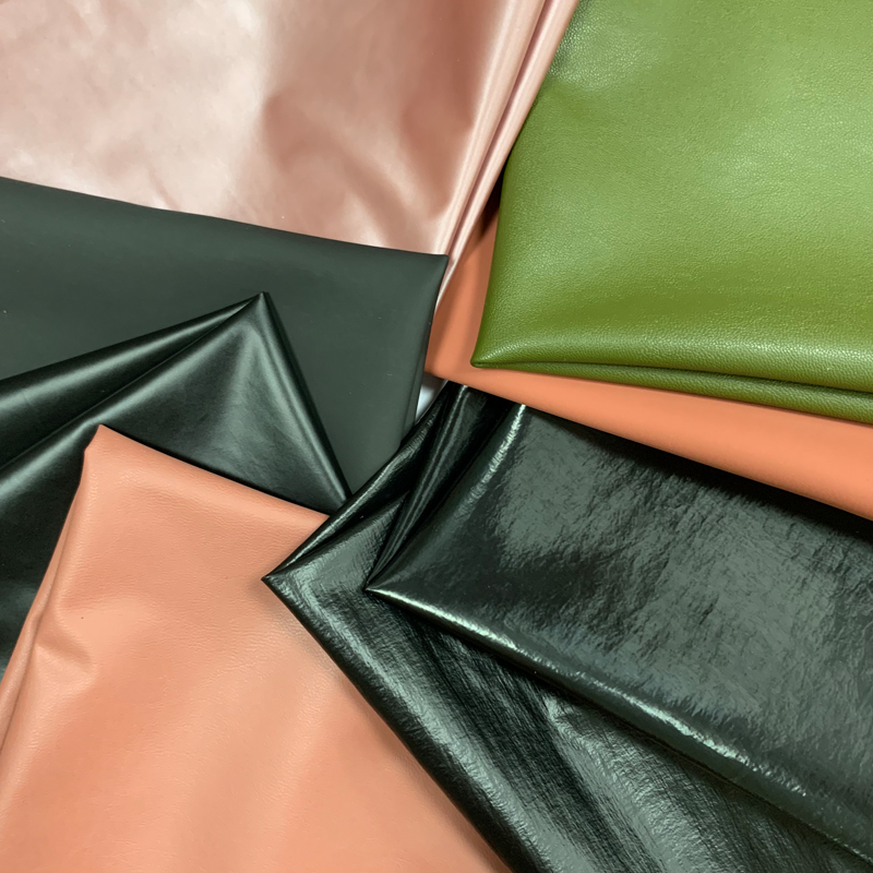 Soft Waterproof Artificial Leather For Garments