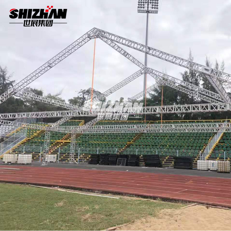 heavy duty aluminium plate sound and light truss system