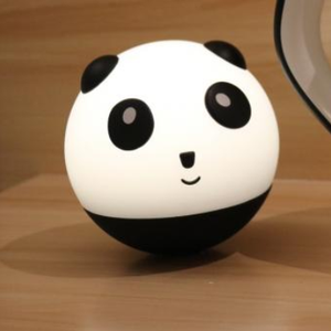 return gifts 7 colors lovely panda night light with touch sensor