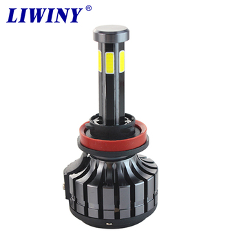 liwiny manufacturer 6 side auto lighting systems headlight kits h4 h7 led car bulbs light for cars
