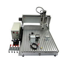 CNC router 6040 engraving machine LY 2.2KW 6040Z-VFD 4axis router cnc cutting machine <strong>furniture</strong> machine