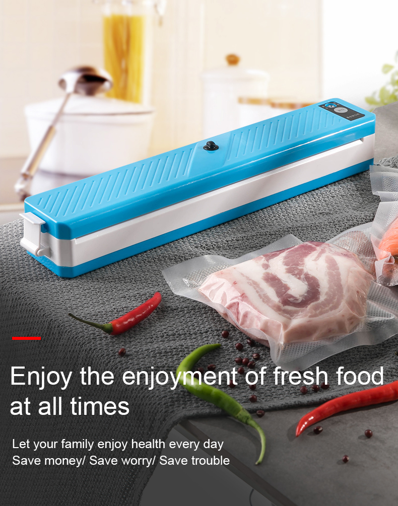 Automatic Machine Vacuum Sealer Home Mini Power Item Packing Food Color Hand Material