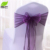 Hot sale cheap promotional wedding ruffle chair sash