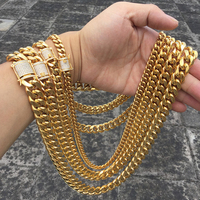 Wholesale Jewelry Fashion 14k Gold Mens Chain