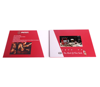 15 Years Factory Free Sample High Quality Custom Recordable Invitation Lcd Video Greeting Card