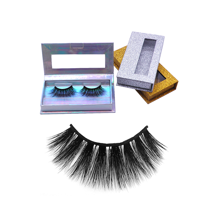 <strong>A06</strong> Hitomi own brand real mink eyelash thin band eyelashes wholesale hand made mink eyelashes