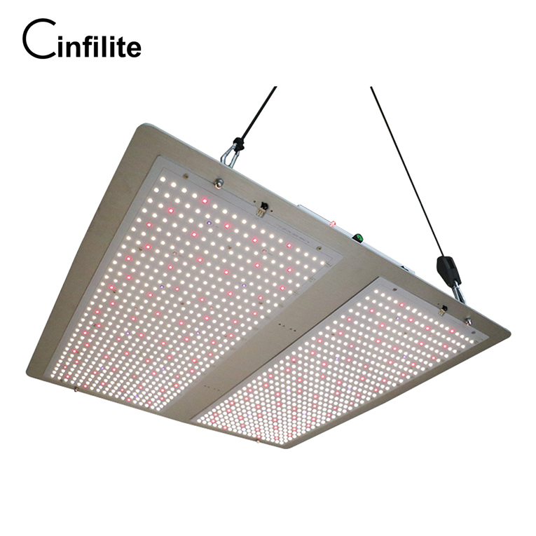 Infilite best choice ultra thin horticulture 150w 1500w quantum led board samsung seoul chip 2.6umol/<strong>J</strong> 1 guaranty led grow light
