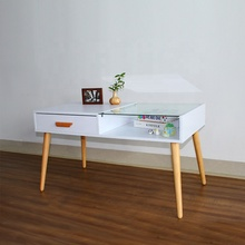 modern glass coffee table design melamine living room <strong>furniture</strong> for sale