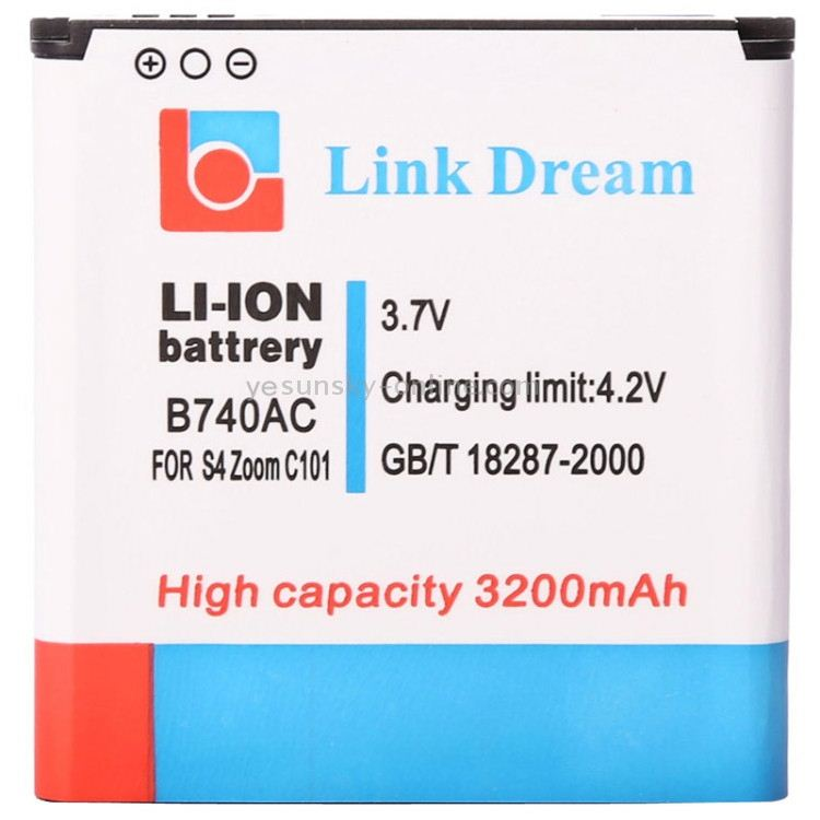 High Quality 3200mAh Replacement Battery for Galaxy SIV Zoom <strong>C101</strong> C1010 (B740AC)