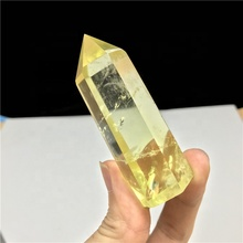 Natural Lemon Citrine Quartz Crystal Healing Stones Tower <strong>Points</strong> Rock <strong>Point</strong>