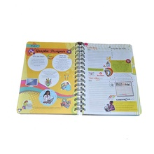 Custom Hardcover Full Color Spiral Binding Kids <strong>Book</strong> Printing