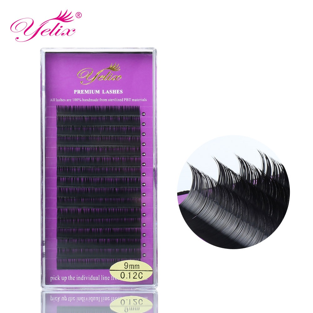 <strong>J</strong> B C CC D D+ Curl Eyelash Exension Supplies Private Label or Logo with Wholesale Price
