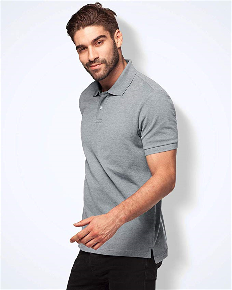 2019 High Quality Wholesale Cheap Price For Polyester Polo T Shirts Mens Printing Custom Your Own Logo Polo Shirt