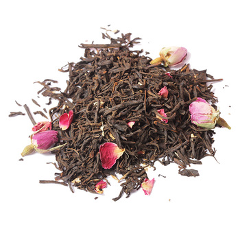 Chinese Breeze Spring Organic Cherry Rose Blossom herbal Tea Premium Chamomile Fruit Essence Flavored Blend Ginger Black Tea