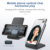 Portable Wireless Mobile Charger Phone Holder 5W/7.5W/10W/15W Charges All Qi-Enabled Phones Fast Wireless Charger Stand