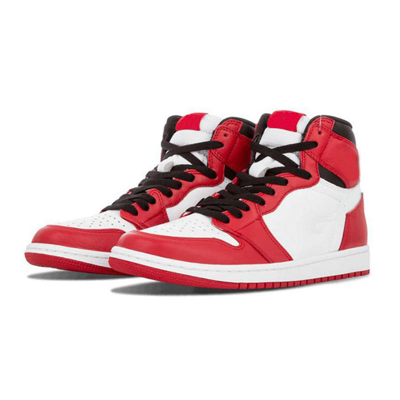 New Fashion High Top OG Bred Toe Chicago J 1 Basketball Shoes <strong>Mens</strong> Royal Blue <strong>Men</strong> Designer Sneakers