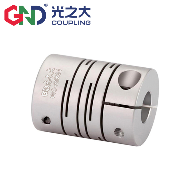 GIC High-strength Aluminum Alloy Parallel Lines Clamp Shaft Coupling Series <strong>D12</strong> L18.<strong>5</strong> Encoder Stepmotor Coupling 2mm~6mm