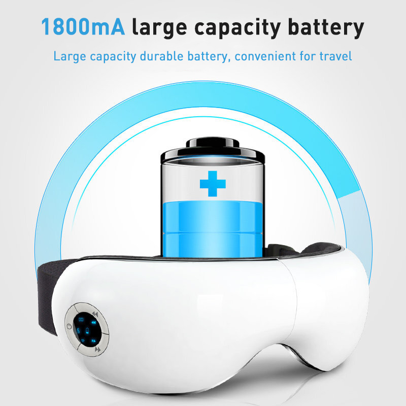 Rechargeable lithium battery Eye Massager heat compress relax eye pressure Eye Massager Protector
