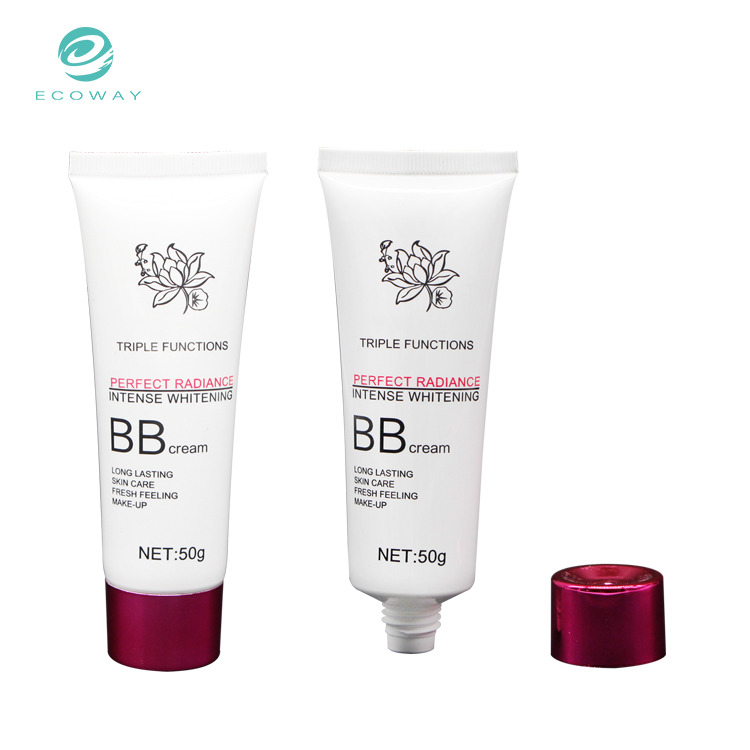 50ml BB cream cosmetic squeeze tube packaging