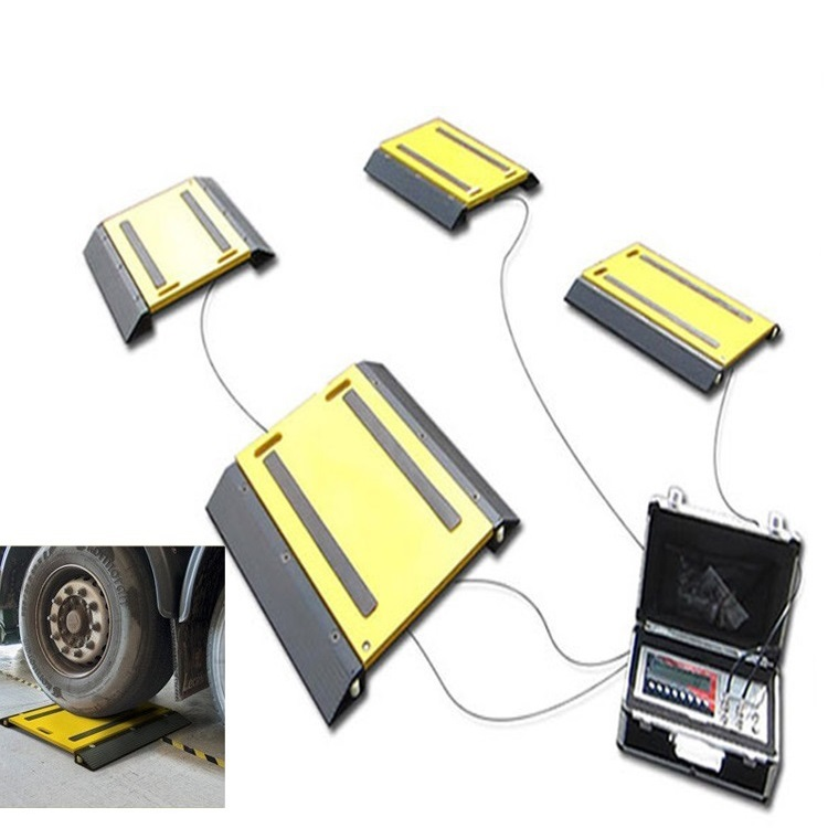 Hot Selling Aluminum-alloy Vehicle Weigh Pad ,40T 50T 60T Portable Vehicle Weighing Scales