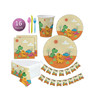 Wholesale Distributors Party Supplies Compostable Party Supplies Dinosaur Party Set