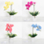 Valentines Day Gift Artificial LED Phalaenopsis vase lamp