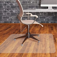 For Hard Floor and Carpet Tiles Office PVC Mat Chair Indoor Mat for Plush Carpet