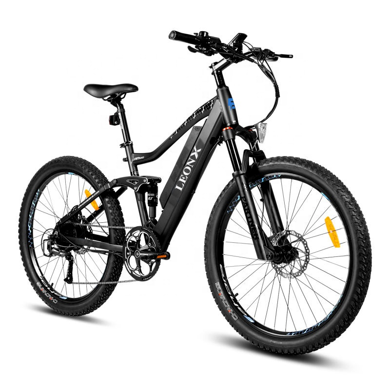 2020 new arrival 27.5 inch downhill MTB Full Suspension <strong>Electric</strong> Mountain Bike <strong>Electric</strong> Bicycle ebike cycle