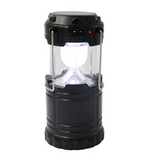 Mini Solar Powered Outdoor Emergency Lantern Light Rechargeable Solar Lantern For Camping