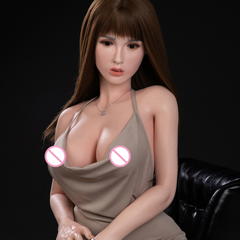 165 cm 5 ft 4.9 in best price free shipping real silicone Japanese woman Asian sex doll