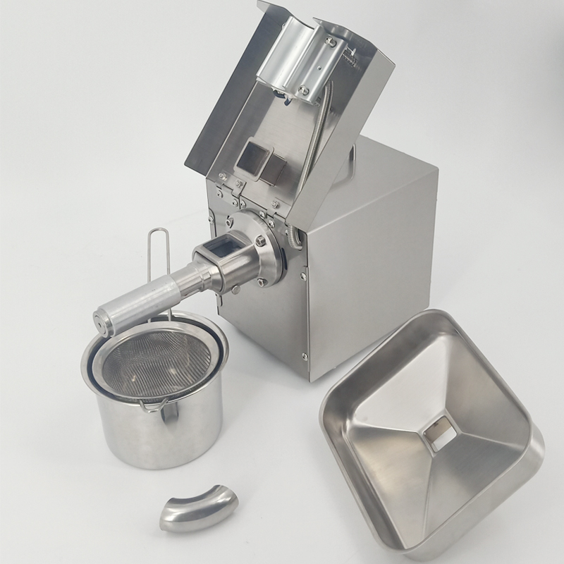Easy cleaning  stainless steel  cold mini extraction home use oil press machine