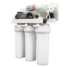 5 6 7 8 Stages 75GPD 28W 1.4 Ton/Day Reverse Osmosis Drinking Water Purification <strong>System</strong> With UV