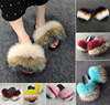 raccoon fox mix slipper