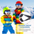 Outdoor snow glasses  UV Protection Kids Ski Goggles  Helmet Compatible Snow Goggles for Boys & Girls
