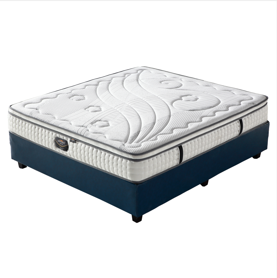 High class fabric euro top design king size spring mattress - Jozy Mattress | Jozy.net