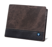 custom logo dongguan atm bifold short PU card protector credit card sleeve young men <strong>wallet</strong>