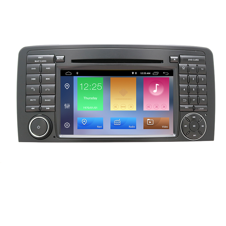 IPS 2GB Android 10 Car DVD Player For <strong>Mercedes</strong> Benz CLASS ML <strong>W164</strong> X164 ML350 ML300 GL500 ML320 ML280 GL350 GPS radio Multimedia