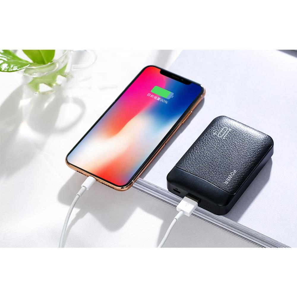 High quality Popular <strong>OEM</strong> Cheap Smallest Portable Fast Charging Rohs Phone Charger Power bank 10000mah