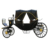 Luxury four wheels inflatable horse carriage halloween decorations