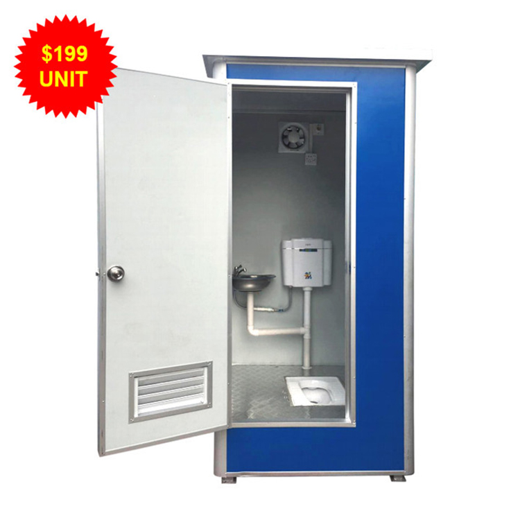 Low Price Outdoor Vip Toilet Portable Mobile Wc Portable Public Toilet Cabin For Sale
