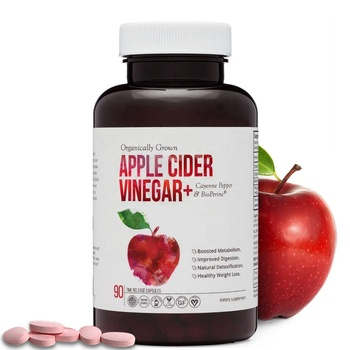 Natural Fruit Extract DV With Mother Apple Cider Vinegar Chewable Pill for Weight Loss