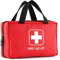 220 Piece First Aid Kit with Hospital Grade Medical Supplies for Home Outdoors Office Car