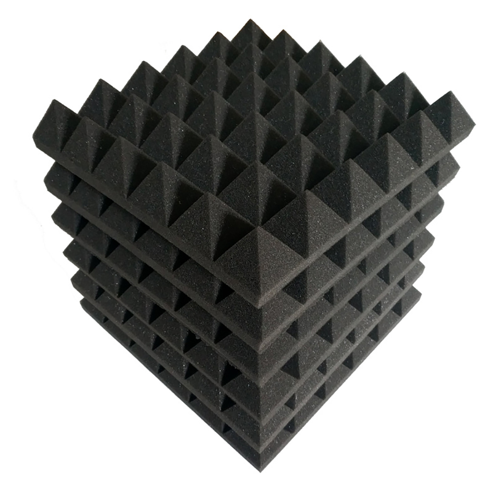 14 Density Hot Selling Fire Retardant Super Soft Pyramid Sound Insulation Sponge Pyramid Shape Acoustic Foam <strong>Panels</strong>