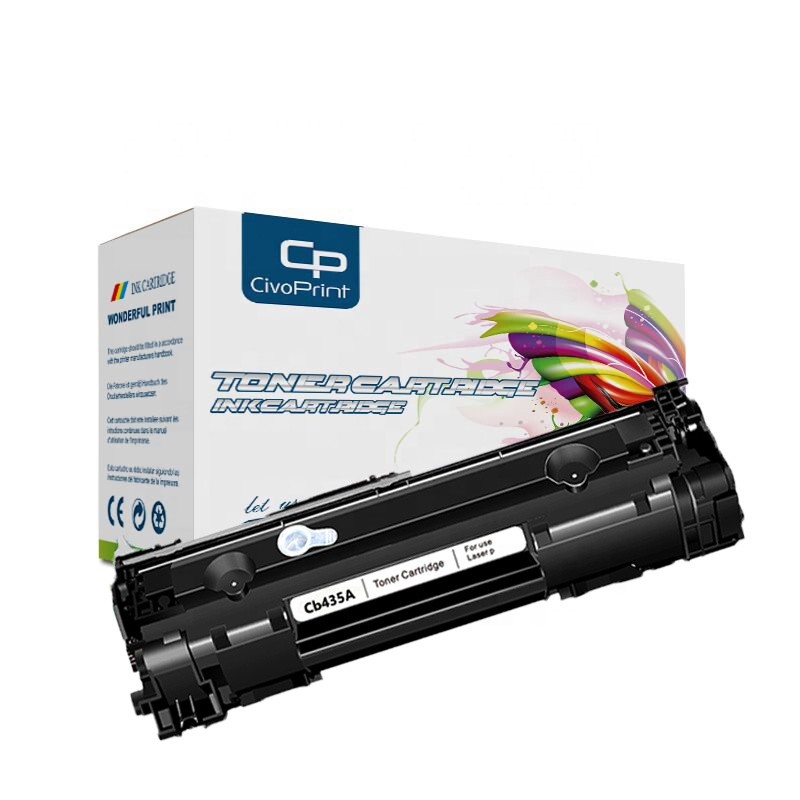 Civoprint Factory direct sale Toner Cartridge CB435A 435A Use For Laserjet <strong>P1005</strong> P1006 Laser <strong>Printer</strong>