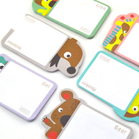 IP character customized sticky notes for kids Promotional sticky notepad