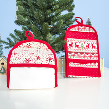 Wholesale Textile Christmas <strong>decoration</strong> <strong>Wall</strong> Mount Toilet Tissue Paper Roll Holder and Dispenser with Cover for <strong>Bathroom</strong> Storage
